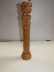 Kadam Wood Ashoka Pillar