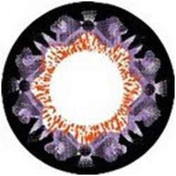 Flury Purple Color Contact Lens