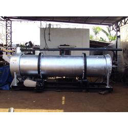 Sand Dryer With Burner And Pumping Unit