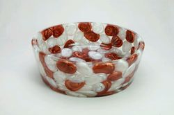 Prayosha Thali Copper & White Pearl Pebbles Washbasin