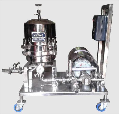 Gear Pump Zero Hold Filter Press