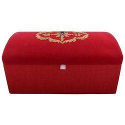Zari Embroidery Handicraft Wedding Boxes