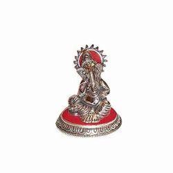 Aluminum Ganesh Statue