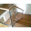 Wooden Glass Railing