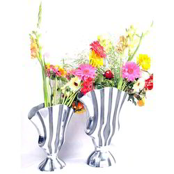 Silver Plated Flower Vase