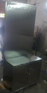Stainless Steel Table with Apron Hanging