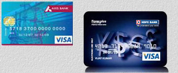How to use hdfc forex card in india