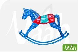 Vaah Painted Rocking Wooden Horses