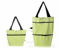 Kawachi Lightweight Shopping Trolley Wheel Folding Travel Luggage