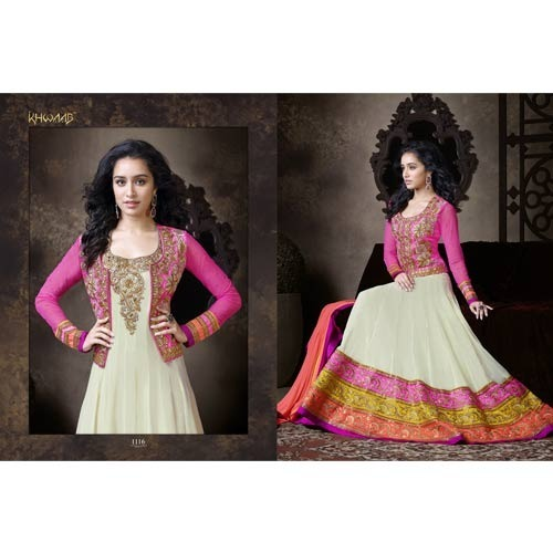 Designer Anarkali Party Wear Suit