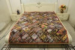 Paki Thari Handmade Antique Wall Hanging Bed Cover