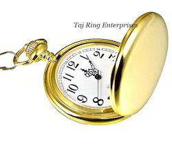 Push Button Pocket Watch