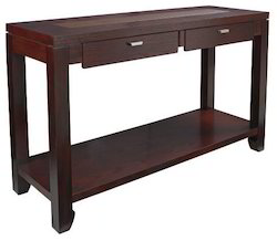 Wooden Console Table with Drawer
