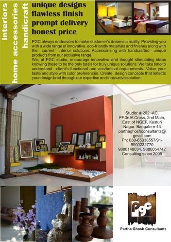 handicrafts items architecture interior designing service