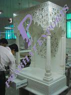Meenakari Marble Temple