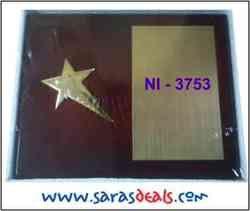 NI-3753- Wooden Trophy
