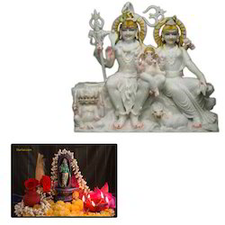 Shiva Parvati Statues for Home