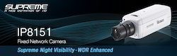 Supreme Night Visibility WDR Enhanced Fixed Network Camera