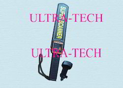 Metal Detector With Vibrator Ultra Super Scanner