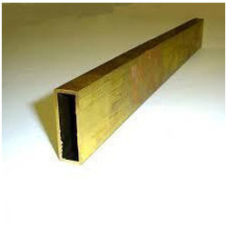 Brass Rectangular Tube