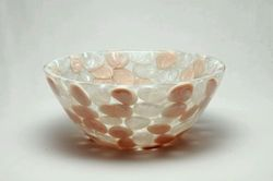 Prayosha Ivery White Pearl Pebbles Washbasin