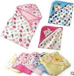 Designer Baby Hooded Blanket