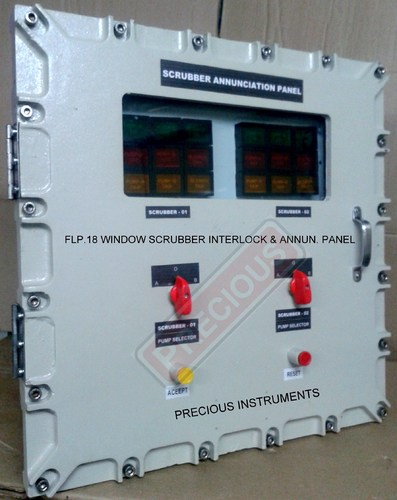 Earth Monitoring System : Annunciator panel flameproof