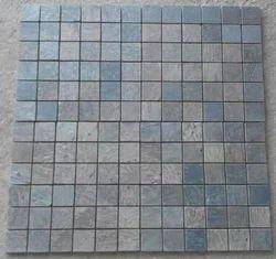 Golden Slate Stone Mosaic Tiles