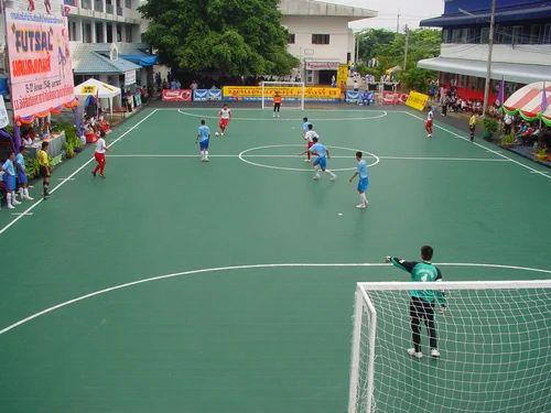 Outdoor Basketball Surface Futsal Sport Surface