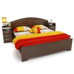 Wooden Double bed SUP DB 017