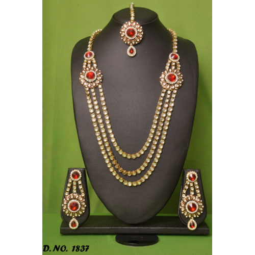 Gold Long Necklace Images Gold Long Necklace Set Long