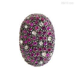 diamond gemstone beads finding