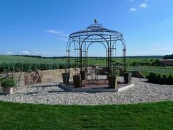 Wrought Iron Pavilions