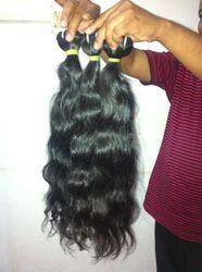 100% Human Hair Extensions Wavy
