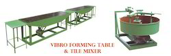 Vibro Forming Table Machine and Designer Tiles