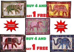 4pcs Christmas Decor Wall Hangings