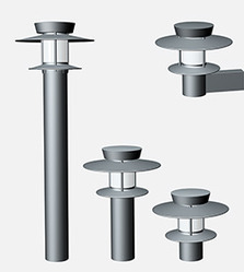 Hybrid Bollard Light - Flat Top