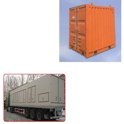 Container for Gas Turbines