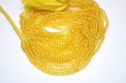 Yellow Mystic Quartz Beads