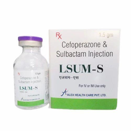 Cefoperazone 1gm Sulbactum 500 mg Injection