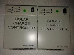 Microcontrollar Solar Charge Controller