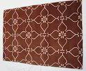 Floral Design Hand Tufted Carpets