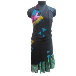 Ladies Fancy Wrap Skirt Dress