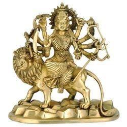 Brass Goddess Statue