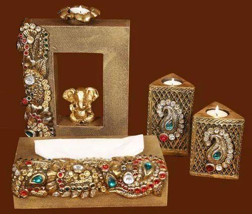 Designer Ganesha Candle Stand