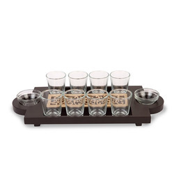 Tequila Tray 8 Glass