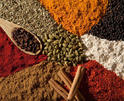 indian whole and ground spices