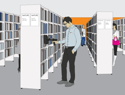 RFID Based Library Management System Designing Services