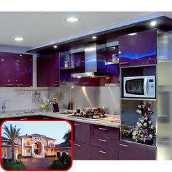 Stainless steel modular kitchens for homes stainless for Steel modular kitchen designs