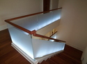 Modern Staircase With Glass Balustrade